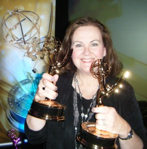 Charlene Maville at the 2010 Emmy Awards Dinner