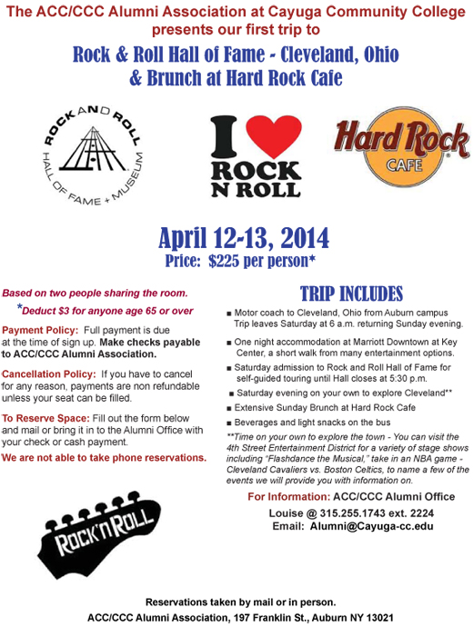 Rock and Roll 2014 Poster