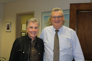 John Walsh and Dr. DeCinque