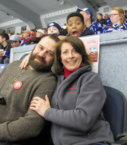 Photo-bombed at the Crunch