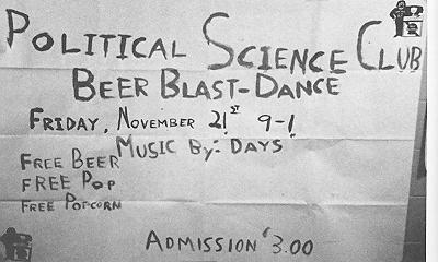 political-science-beer-blast-dance-november-1975
