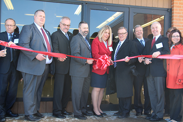 7 - Ribbon cutting