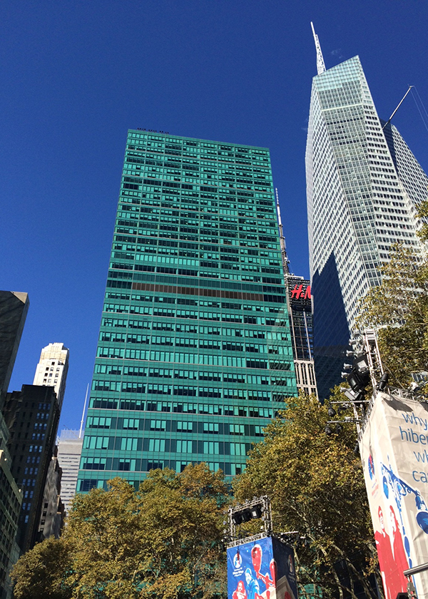 VIEW AT BRYANT PARK