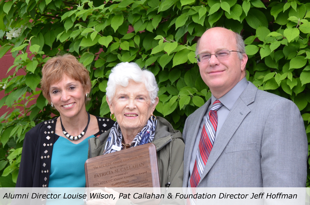 alumni-director-louise-wilson-pat-callahan-foundation-director-jeff-hoffman
