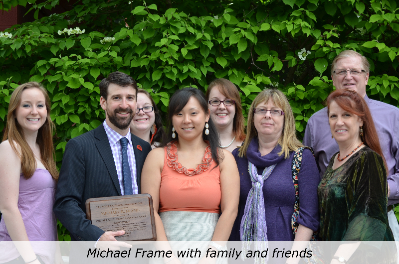 michael-frame-with-family-and-friends