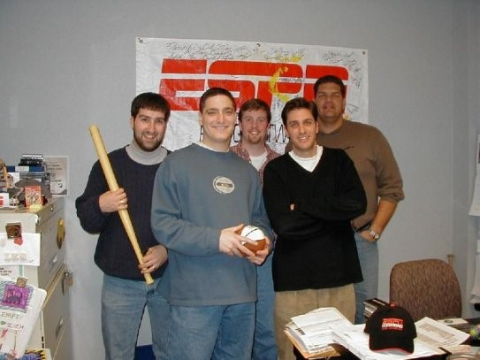 Romano as Producer of Mike and Mike in 2001