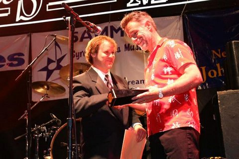Hall Of Fame Award & Jon Fishman.jpg