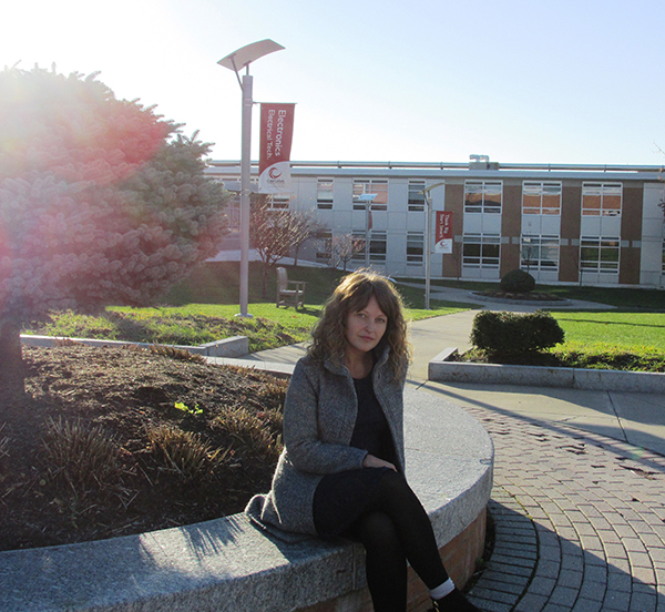 Eilleen November 2014 on CCC campus