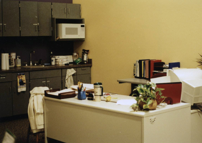 2001-temporary-front-office-in-kitchen
