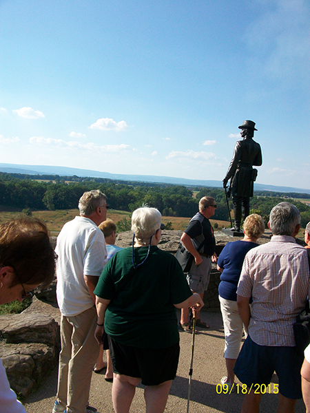 At Little Round Top