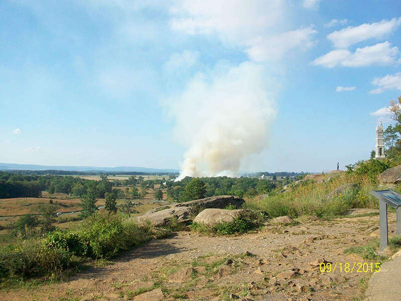 Controlled Field Burn