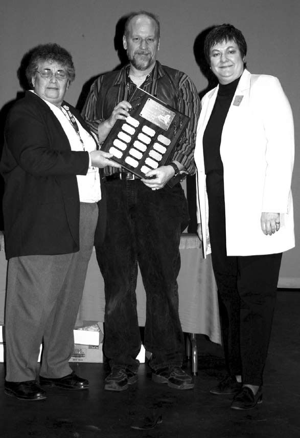 Bob Frame honored at TANYS Award -Spartan 2007.jpg