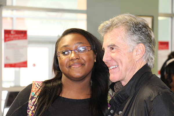 John Walsh and student 2