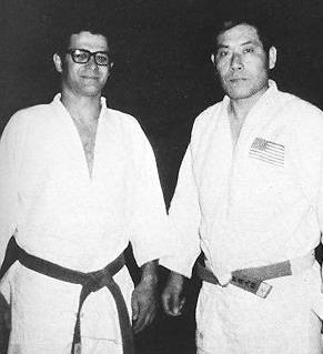 Judo Club hosted Judo clinic 1972 Peter Petrosino and Dr. Sachio Ashida of Brockport State