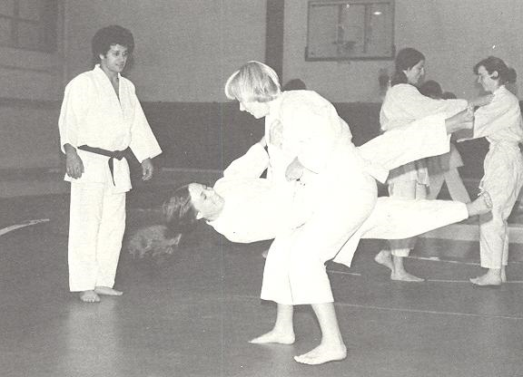 Kodokan Judo taught by Peter Petrosino, 2nd degree black belt 1977