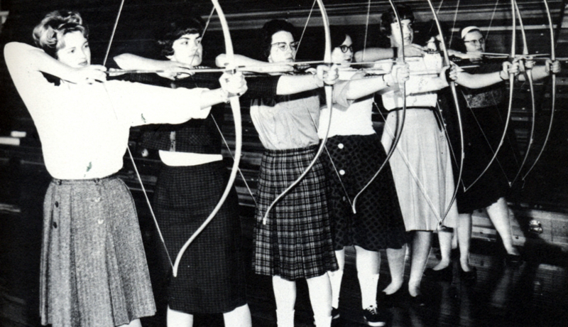 1963-girls-archery