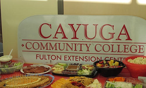 Fulton Extension sign